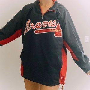 Atlanta Braves pullover by Majestic